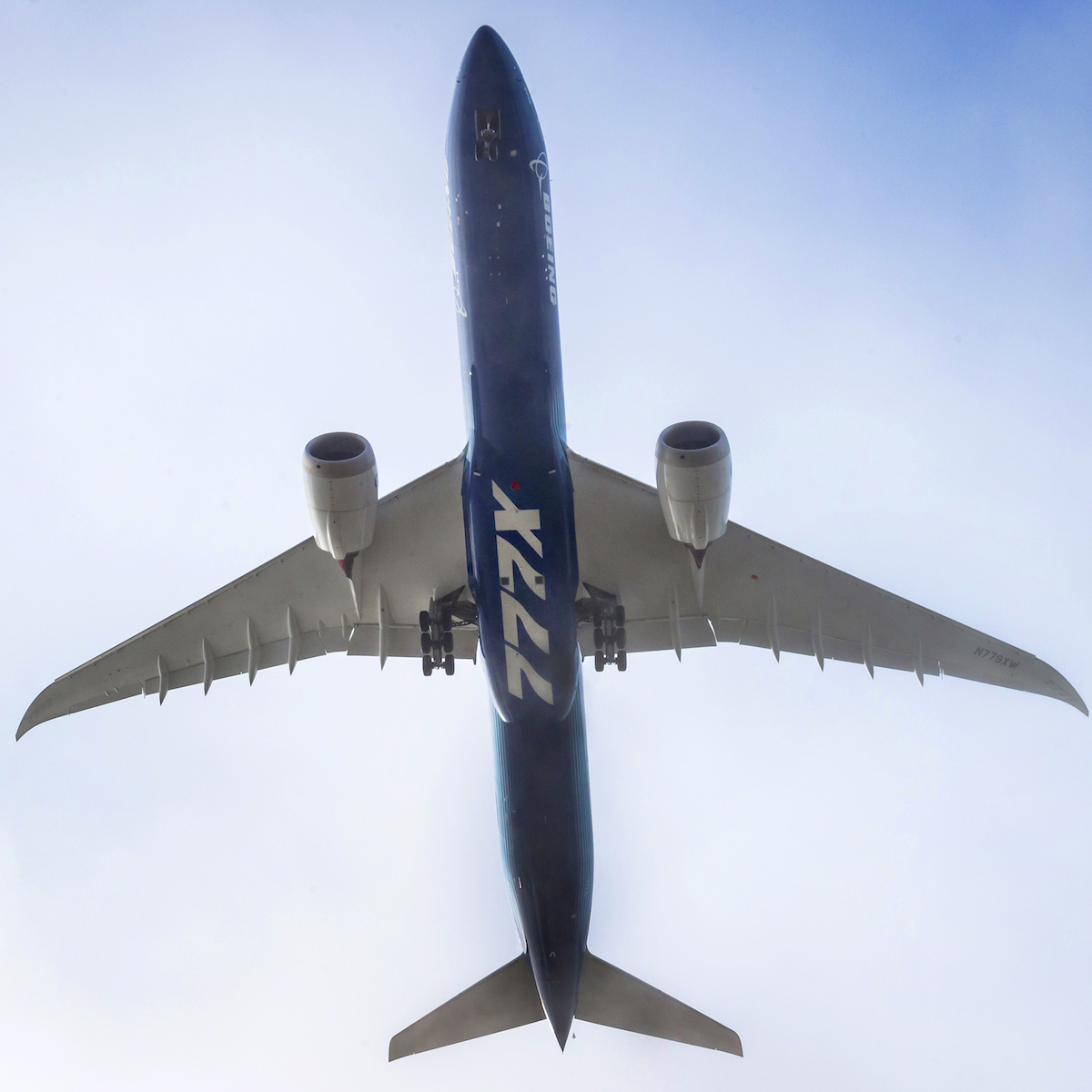 <em>777x</em>GE9X powers maiden flight of Boeing 777X