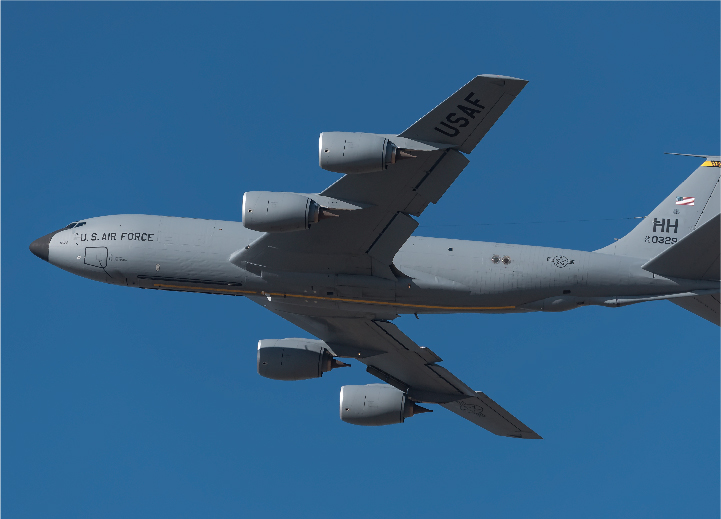 KC-135R | TF33 to CFM56